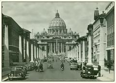 3460 R Roma 29 Via della Conciliazione e S. Pietro  Counciliation street anf St. Peter