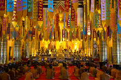 Wat Chedi Luang (atsushi photography) Tags: light people man tree architecture thailand temple asia southeastasia buddha religion culture monk chiangmai northernregion