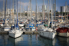 Barcelone - Espagne (Clement Saunier) Tags: barcelona costa port puerto mar espana catalunya espagne brava barcelone rambla