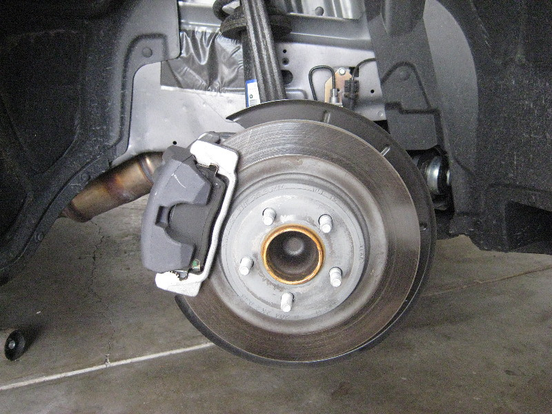 how to change front brake pads on 2012 dodge journey