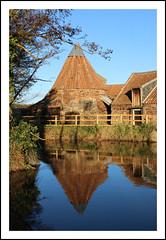 Reflections of Preston Mill (toughsl) Tags: autumn mill water sunshine reflections scotland eastlothian eastlinton prestonmill