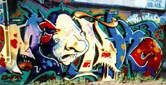 ewok_monkRIP01 (oldschooltwincitiesgraffiti) Tags: street art minnesota graffiti midwest paint rip stpaul minneapolis monk tags spray ewok mpls spraypaint twincities graff aerosol mn bombshelter stp