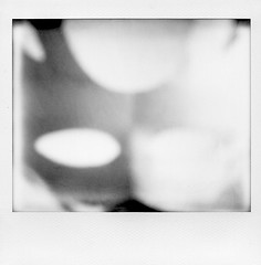 The Vision (Joe Papagoda) Tags: blackandwhite abstract photography mask fineart surreal conceptual tych impossibleproject papagoda