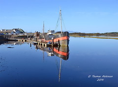 Reflections From Irvine, My Home Town (Time Out Images) Tags: reflections scotland harbour north irvine ayrshire