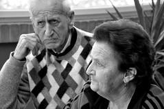 Alba e Domenico - Scandiano (lollocappucci) Tags: old portrait people blackandwhite bw nikon bn persone sguardo oldpeople ritratto biancoenero reggioemilia d90 vedere circuitooff nikond90 fotografiaeuropea lorenzocappucci