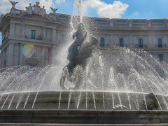 Fountain of the Naiads-3 (Mikeinwayne...On and off...) Tags: italy rome fountain piazzadellarepubblica niads niad