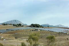 Solar farm near Sierra Nevada Mountains, Spain (Arthur Chapman) Tags: solar spain sierranevada malga geo:country=spain geocode:method=googleearth geocode:accuracy=10000meters