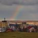 The rainbow after