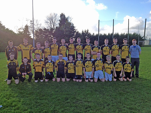 St Brogans U16 Hurling Panel 2014