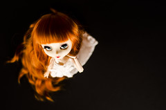 The blood Moon (0ctavie) Tags: blue red green eyes planning wig groove pullip re custom custo jun hed stica rewig