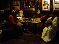 Wrenboys (Robinson_Luzo) Tags: christmas charity ireland people music dublin costume singing folk folklore indoors wren tradition instruments mummers sandymount ststephensday wrenboys sandymounthouse wrenday