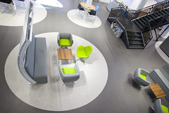 """Bristol airport_bespoke seating (photo courtesy of BBI) • <a style=""""font-size:0.8em;"""" href=""""http://www.flickr.com/photos/92760658@N08/15931259682/"""" target=""""_blank"""">View on Flickr</a>"""