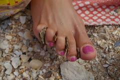 Ukrainian feet with small bunion (PawelIwaniak) Tags: pink toes bunions