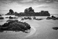 masih seperti dulu (chocoorange) Tags: beach indonesia rocks cliffs sands bayah banten