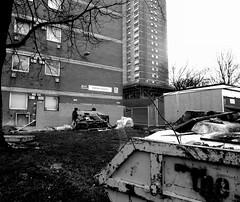 Oatland Heights/Tower Blocks - Little London, Leeds (James W Bell (Good Honest Iago) - Leeds) Tags: towerblock councilflats socialhousing midcenturyhousing highrise flats innercity deprivedarea councilestate deprivation towerblocks leeds photography housing brutalism 50s 60s civilarchitecture midcentury