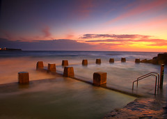 Coogee Baths 2 (Darren Schiller) Tags: ocean seascape beach swimming sunrise dawn sydney baths newsouthwales coogee