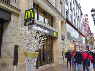 2014-12-07  Paris -  Mc Donald's - 116 Rue de Rivoli