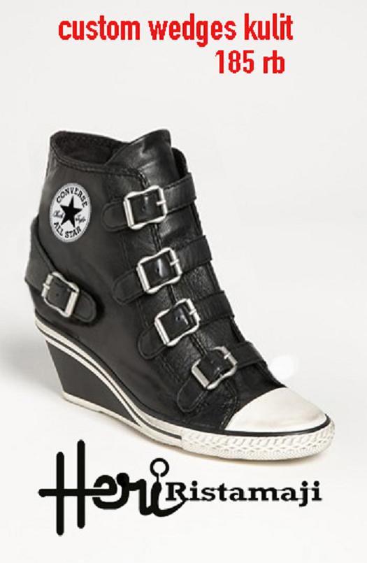 7f4dfc59a19f custom wedges kulit (hristamaji) Tags  ariel fashion st boot kevin boots  muslim peterpan