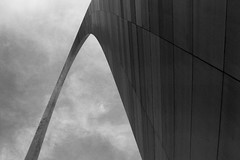 The Gateway Arch (Apophnie) Tags: monument architecture canon mississippi is arch steel stlouis engineering structure powershot missouri gateway saarinen s2 eero catenary