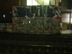 Beaps - Rhone (henkmuraal) Tags: wow graffiti nc utrecht pieces graff rhone trackside beaps