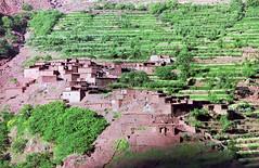 Ouirgrane to Tiziane, High Atlas mountains, Morocco (Miche & Jon Rousell) Tags: africa mountains trekking trek northafrica morocco fields highatlas tiziane toubkel ouirgrane