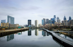 Philly Skyline from South Street Bridge [Long Exposure / ND Filter] (Al Camardella Jr.) Tags: longexposure philadelphia ndfilter philadelphiaskyline