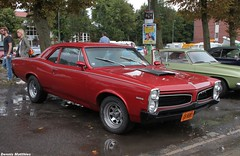 Tempest GTO (The Rubberbandman) Tags: street blue school roof red usa white hot classic car america germany us big muscle machine oldschool chevy bumper chrome german american judge rod pontiac gto tempest rs meet musclecar motorshow targa cloppenburg streetmachine
