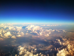 36600 feet above... (Shankha Suvra) Tags: morning sky clouds dawn space sony aeroplane aboveclouds sk17i