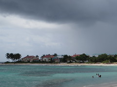 Before rain (s_andreja) Tags: cloud storm france rain island caribbean plage guadeloupe saintfrancois raisinsclairs