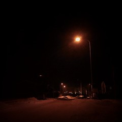 #ночь #дорога #фонарь #свет #темнота #астана #night #road #light #darkness #dark #astana #instakaz #nokiax7 #nokia #x7