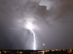 (IgorCamacho) Tags: summer brazil storm nature paran brasil night exposure natureza southern tormenta noite strike vero lightning sul exposio relmpago tempestade raio