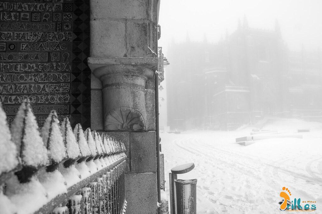 Neve na Cidade da Guarda - janeiro - 2015-9