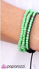 Glimpse of Malibu Green Bracelet K2 P9431-3