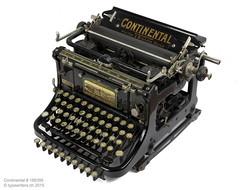 Continental 1922 (shordzi) Tags: 1920s typewriter deutschland schweiz continental 1922 standard chemnitz serialnumber madeingermany wandererwerke 189395 wandererwerkeag pfeifferbrendle generalvertreter