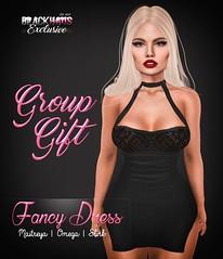 GROUP GIFT - FANCY DRESS (Priscila Ledger) Tags: new girly omega group event gift priscila lovely tmp ledger maitreya slink blackhaus