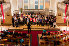 Loud and Proud Choir 2016 -9 (Philip Gillespie) Tags: pink blue gay girls people orange white black men green church boys yellow proud choir contrast canon lesbian happy prime scotland hall concert women edinburgh colours singing smiles transgender event sing bisexual loud songs anthems craigie balleds loudproudchoir craigiechoir