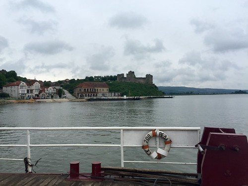 Crossing the Danube on the ferry from Ram to Stara Palanka