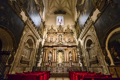 Details! (BoXed_FisH) Tags: travel church architecture gold sevilla andaluca spain europe cathedral interior sony religion wideangle seville unesco es lush catheral placesofinterest sonyzeiss zeiss1635 sonya7 sel1635z sony1635mmvariotessartfef4zaoss sonyzeiss1635f4oss