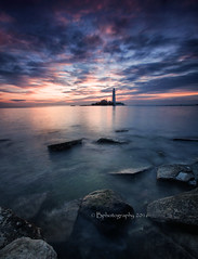 Sunday mornings. (baldridge1271) Tags: longexposure sea england sky seascape sunrise landscape rocks sony northeast stmaryslighthouse bphotographyuk