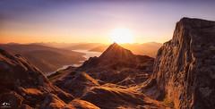 Binnien (J McSporran) Tags: sunset landscape scotland trossachs benaan ef1635mm canon6d
