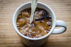Coffee & Milk (H3se) Tags: coffee milk pairing flickrfriday