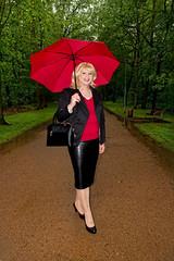 Heusenstamm1 (Tinaturtle27) Tags: rain leather transvestite pantyhose crossdresser