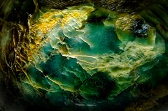 Green rock (Eugen Naiman) Tags: macro cracks polishedrock