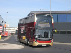 East Yorkshire 795 YY64GWX Hull Interchange on X46 (1280x960) (dearingbuspix) Tags: eastyorkshire 795 x46 eyms yy64gwx