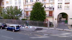 Paris le Vendredi 6 Mai 2016 (desparlsp) Tags: paris france rue poubelle salet
