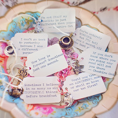 Alice in Wonderland Quotes (Marie's Shots) Tags: tags quotes charms madhatter teaparty aliceinwonderland
