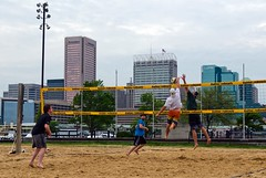 2016-05-09 BBV Men's Doubles (4) (cmfgu) Tags: baltimore beach volleyball bbv md maryland innerharbor rashfield sand sports court net ball outdoor league athlete game mens doubles twos 2s craigfildesfineartamericacom