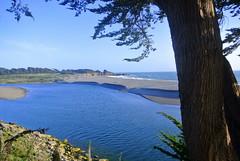 Gualala (ivlys) Tags: california usa nature mouth landscape fluss landschaft gualala gualalariver mndung highway1north ivlys