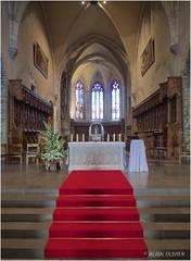 Le chœur de la cathédrale Saint Jean-Baptiste en Maurienne