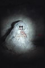 The Abandoned (Spoken in Red) Tags: ghost spotlight orphan horror apparition torchlight supernatural leftbehind darkartportrait hauntedgirl spokeninred abandonedghost